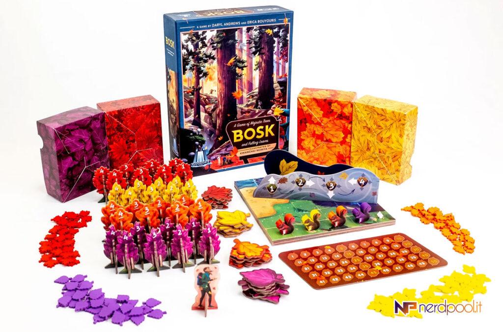 Bosk, gioco da tavolo per salutare l'autunno