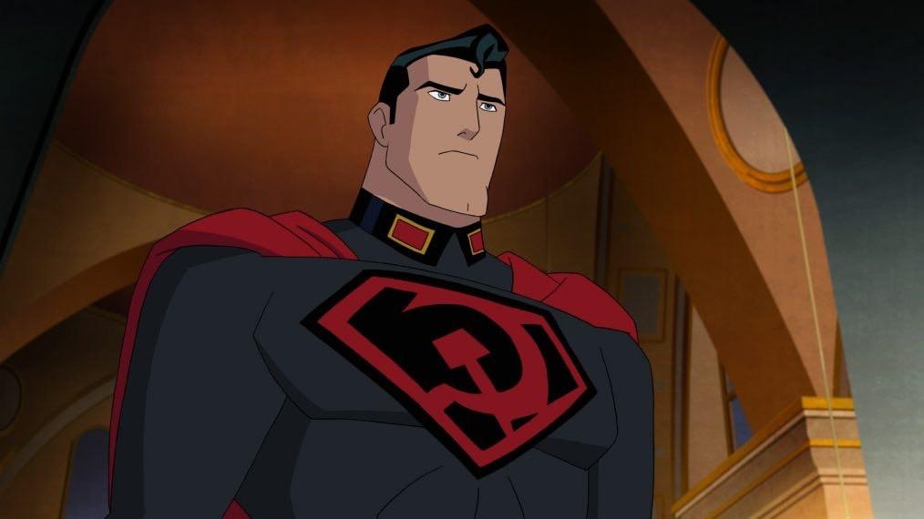 Superman: red son Dc comics Warner Bros