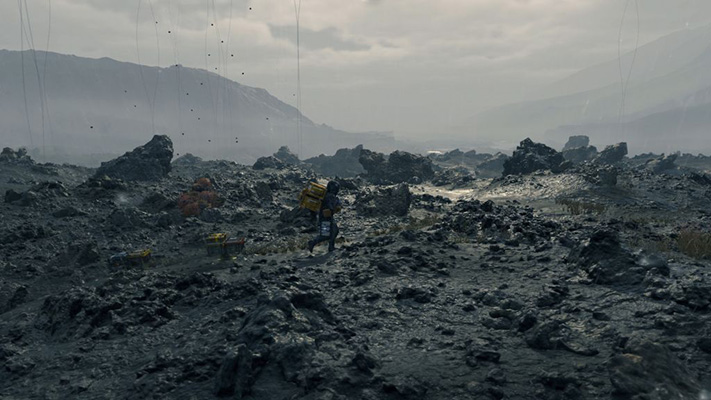 Death Stranding city ruins
