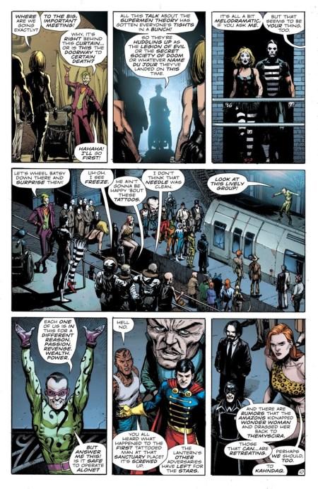dc comics recensione doomsday clock #6 batman joker watchmen