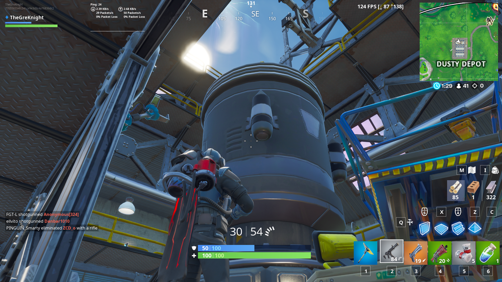 Fortnite Epic Games Content Update 10.31 Dusty Depot Stage 3