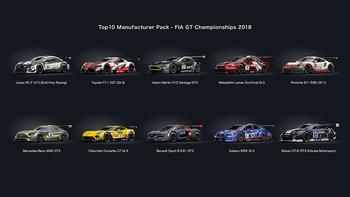 GT Sport Spec 2 cars