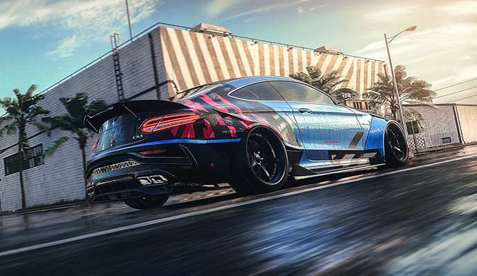 Need for Speed Heat Screen Mercedes