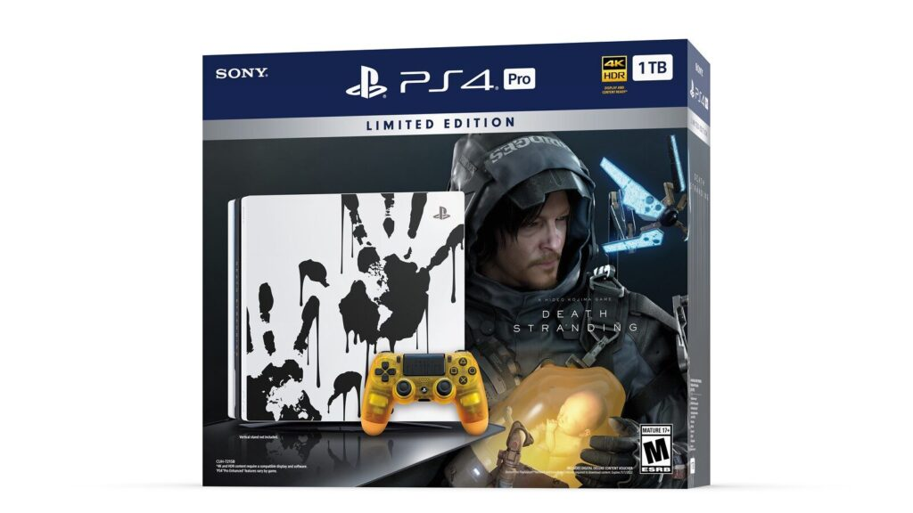 Death Stranding . PS4 Pro Limited Edition