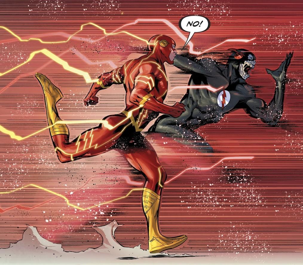 Flash DC Comics Black Flash Fuerza Sage speed still force Metal Flash War