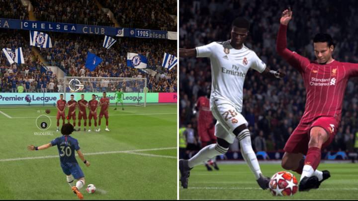 FIFA 20 Demo - Calci di punizione