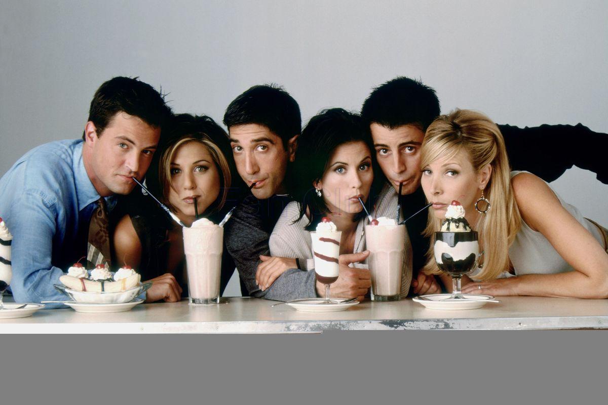 friends cast 25° anniversario tributo sitcom jennifer aniston instagram