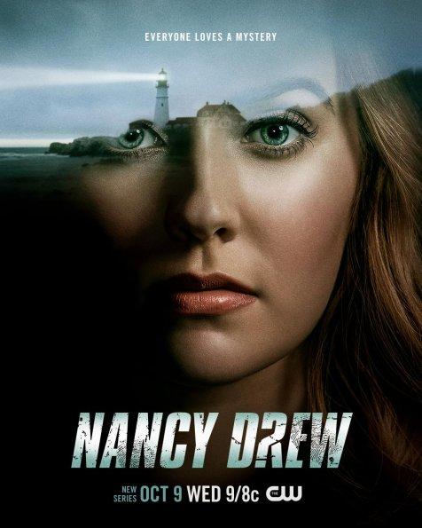 nancy drew serie the cw promo teaser trailer poster