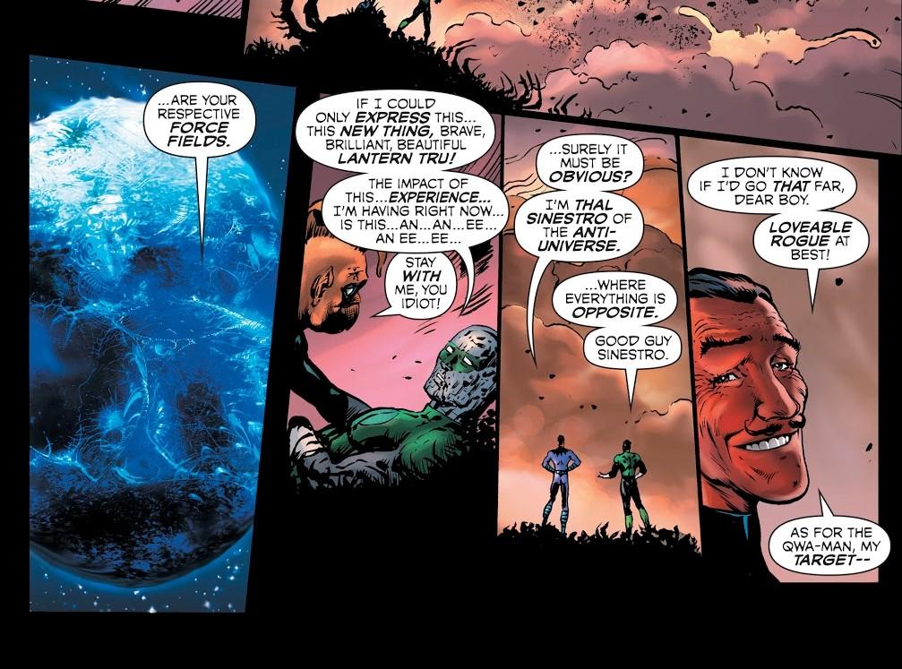 Hal Jordan Sinestro DC Comics Green Lantern Grant Morrison Liam Sharp Lanterna Verde
