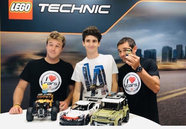 Lego i love cars