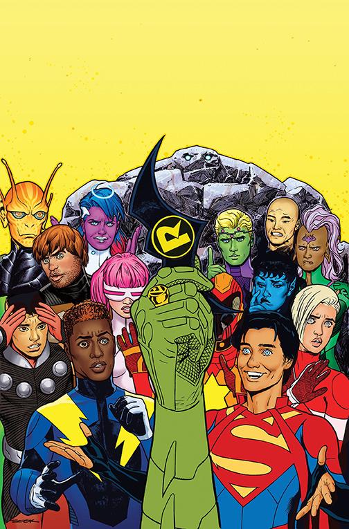 Legion of Super-Heroes Damian Wayne Superboy Jon Kent DC Comics Legione supereroi