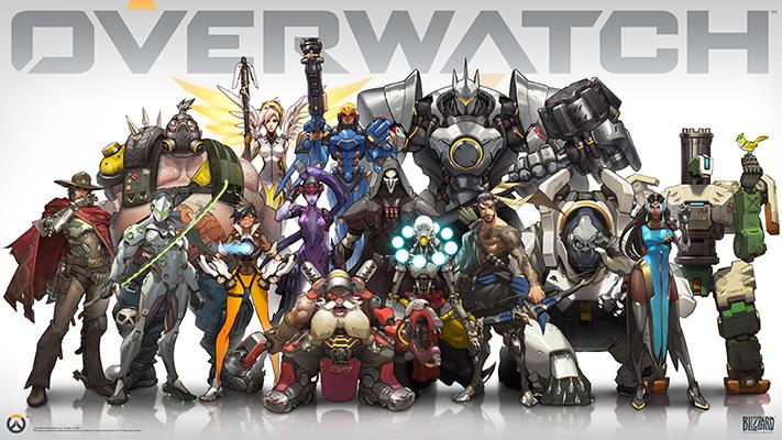 Roster eroi Overwatch
