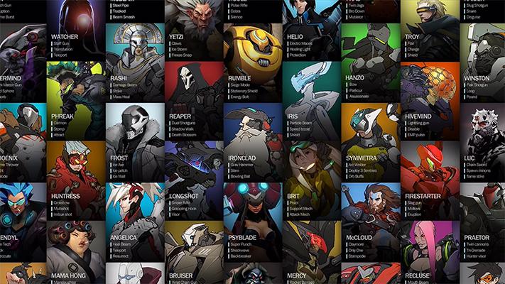 Concept eroi Overwatch