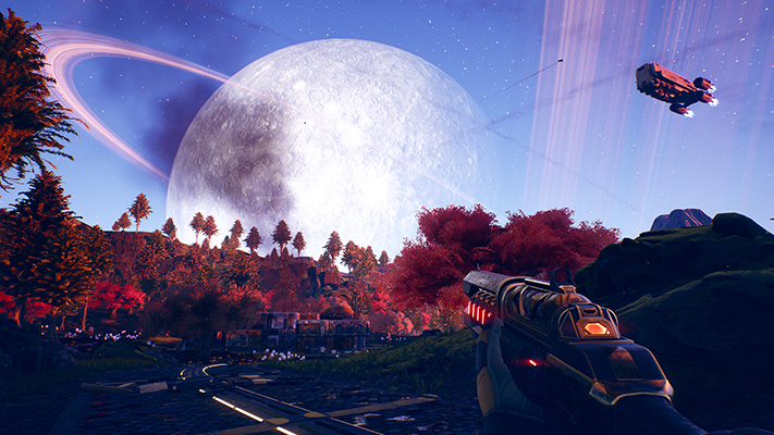 The Outer Worlds landscape