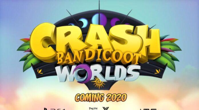 Crash Bandicoot Worlds Wallpaper