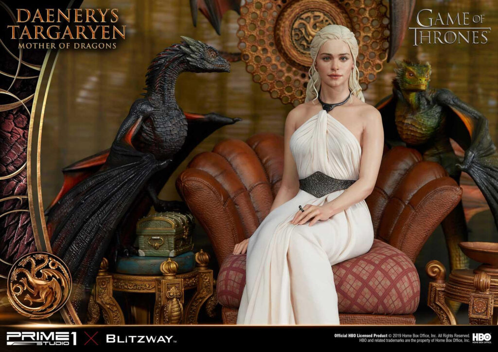 Daenerys Targaryen statua