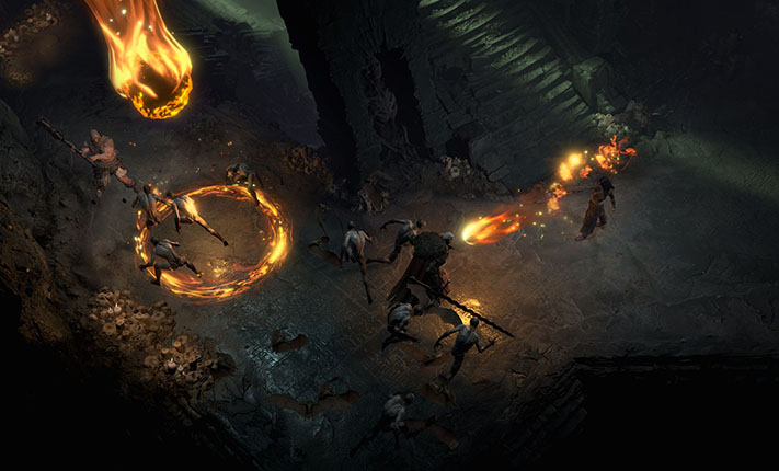 Blizzcon 2019 Diablo IV battaglia