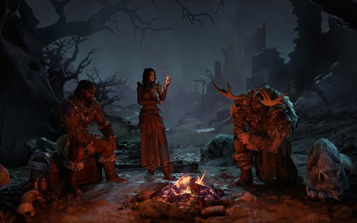 BlizzCon 2019 Diablo IV classi