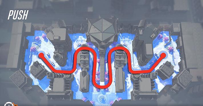 Overwatch 2 modalità Push