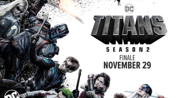 Titans 2: final poster, Nightwing