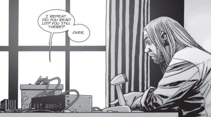 The Walking Dead: Stephanie - Eugene alla radio