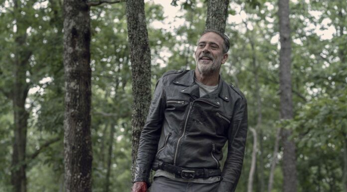 Jeffrey Dean Morgan (Negan) - The Walking Dead 10x06 - Photo Credit: Jace Downs/AMC