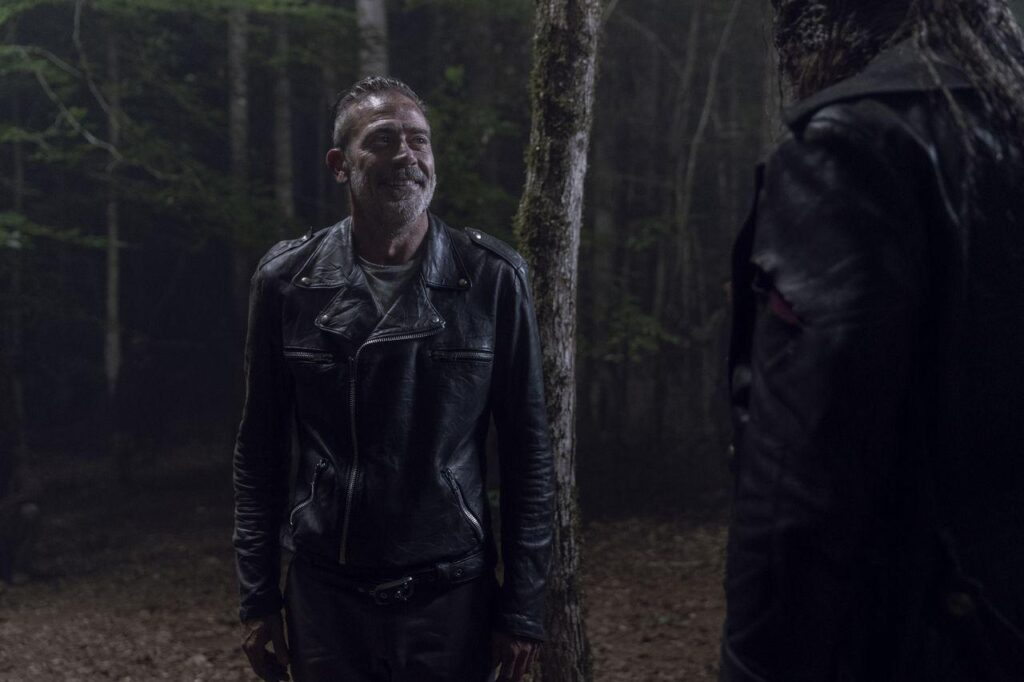 Jeffrey Dean Morgan (Negan), Ryan Hurst (Beta) - The Walking Dead 10x06 - Photo Credit: Jace Downs/AMC