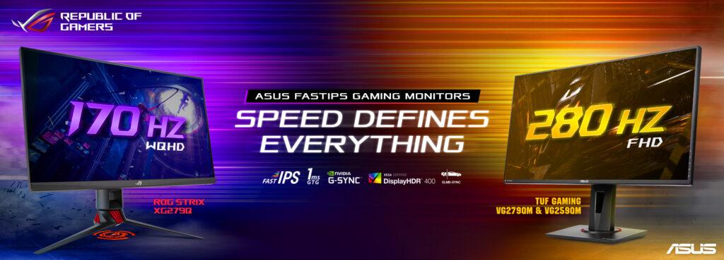 asus monitor gaming