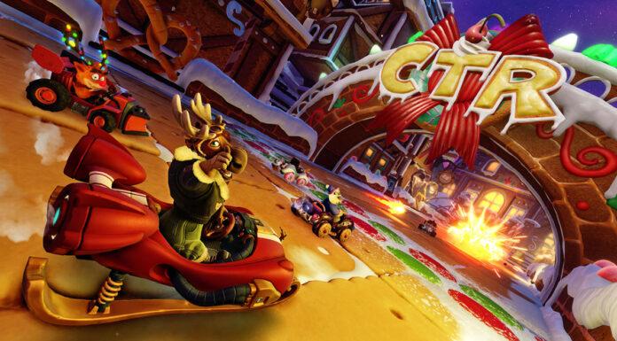 Crash Team Racing Nitro-Fueled winter festival
