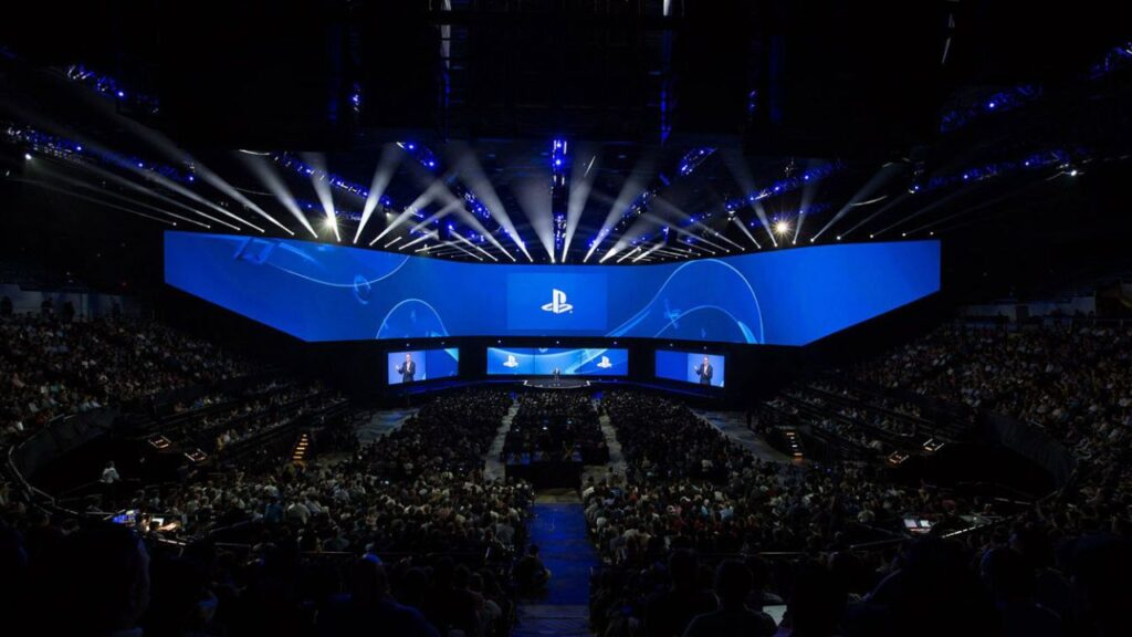 convention playstation sony