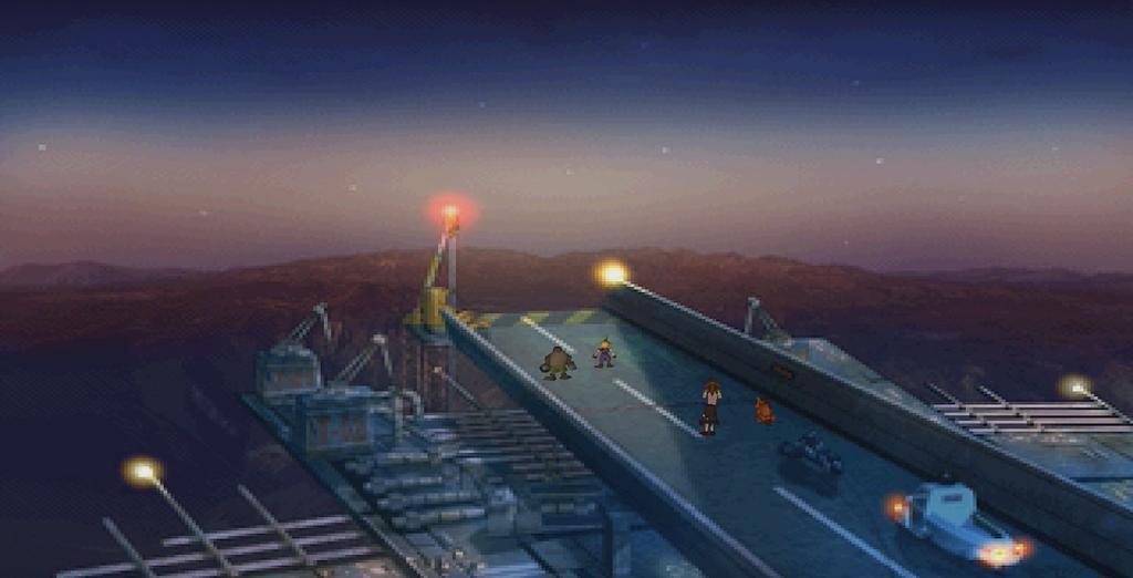 Final Fantasy 7 ponte di Midgar