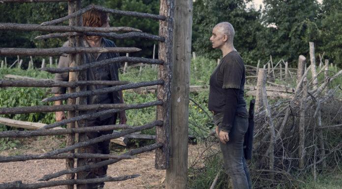 The Walking Dead - Daryl e Alpha