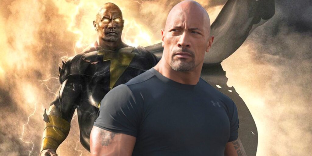 Dwayne Johnson DCEU Black Adam