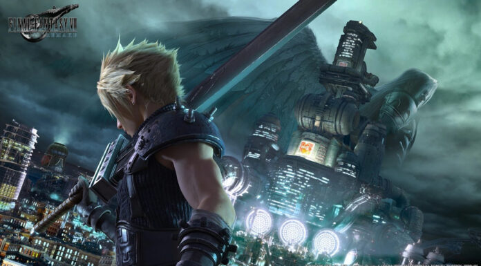 Final Fantasy VII Remake Key art