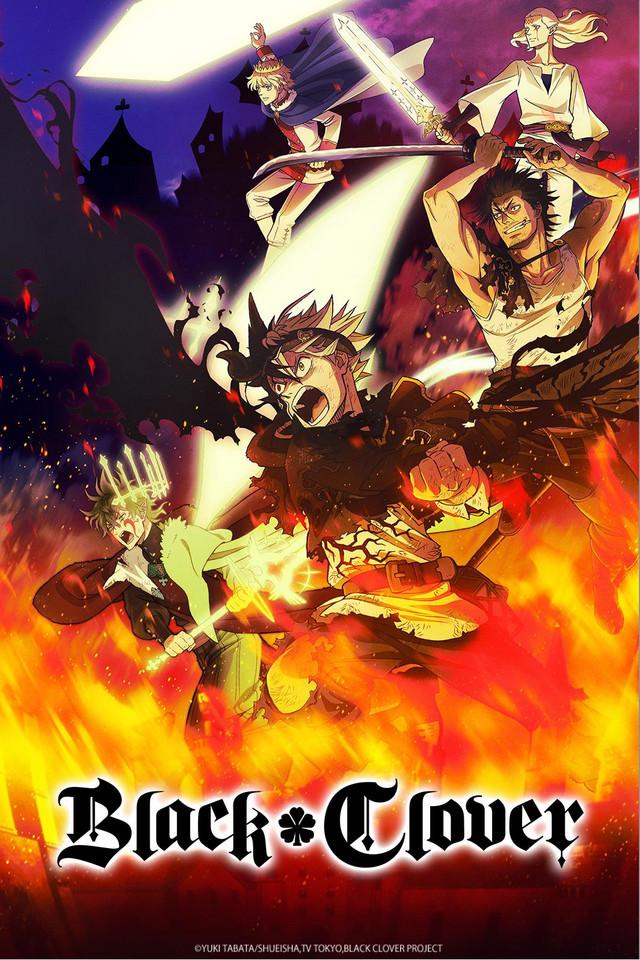 Anime posticipati Black clover