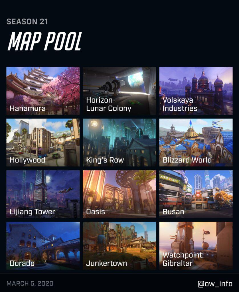 Overwatch Eroi e Mappe
