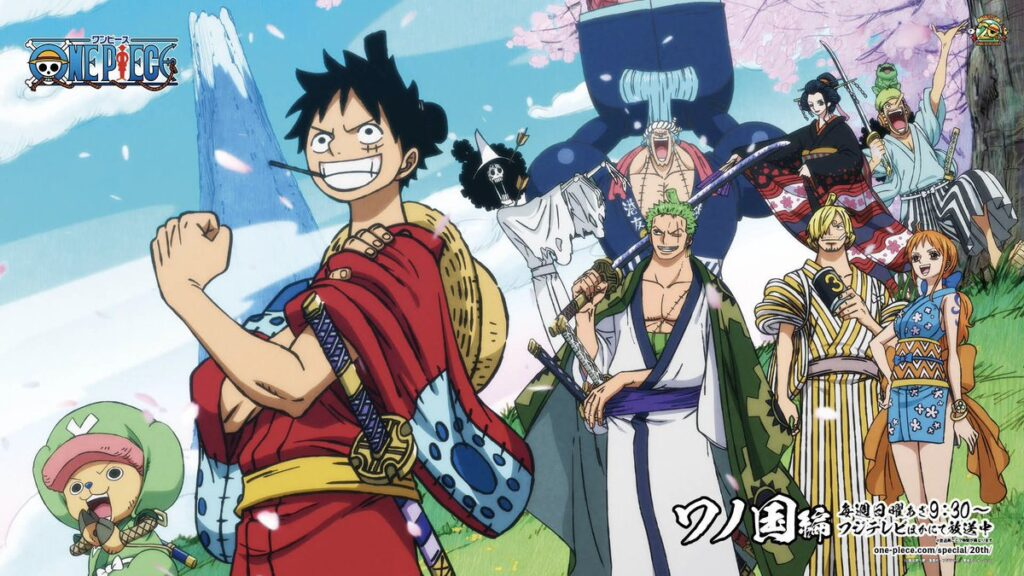 serie anime coronavirus One piece