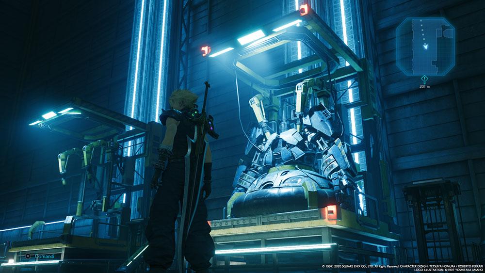 Final Fantasy VII Remake Aerosorvegliante