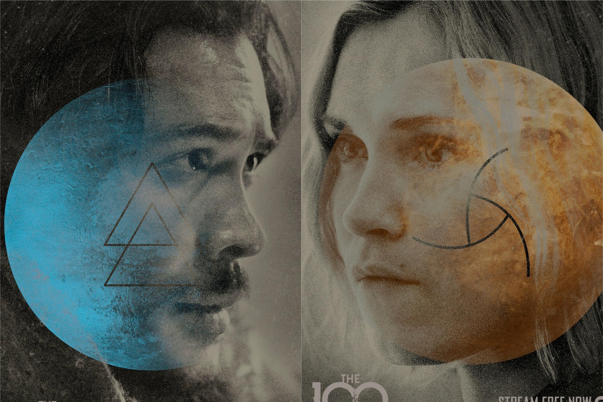 The 100 - nuovi character poster