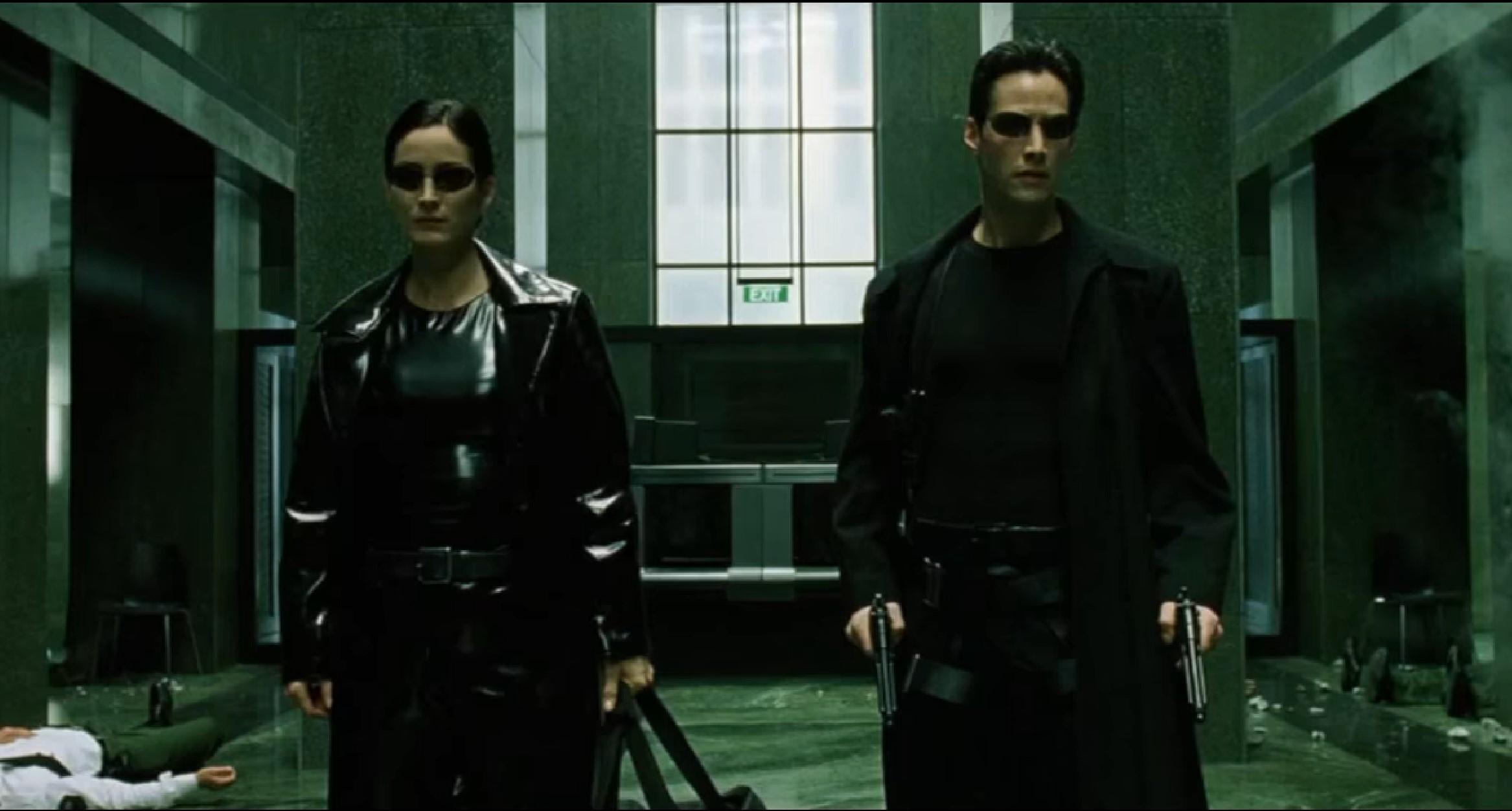 matrix 4 keanu reeves moss ritorno wachowski