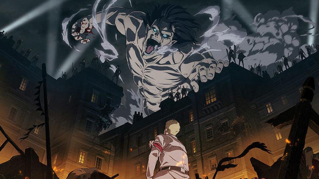 Attacco dei giganti Anime Black Clover