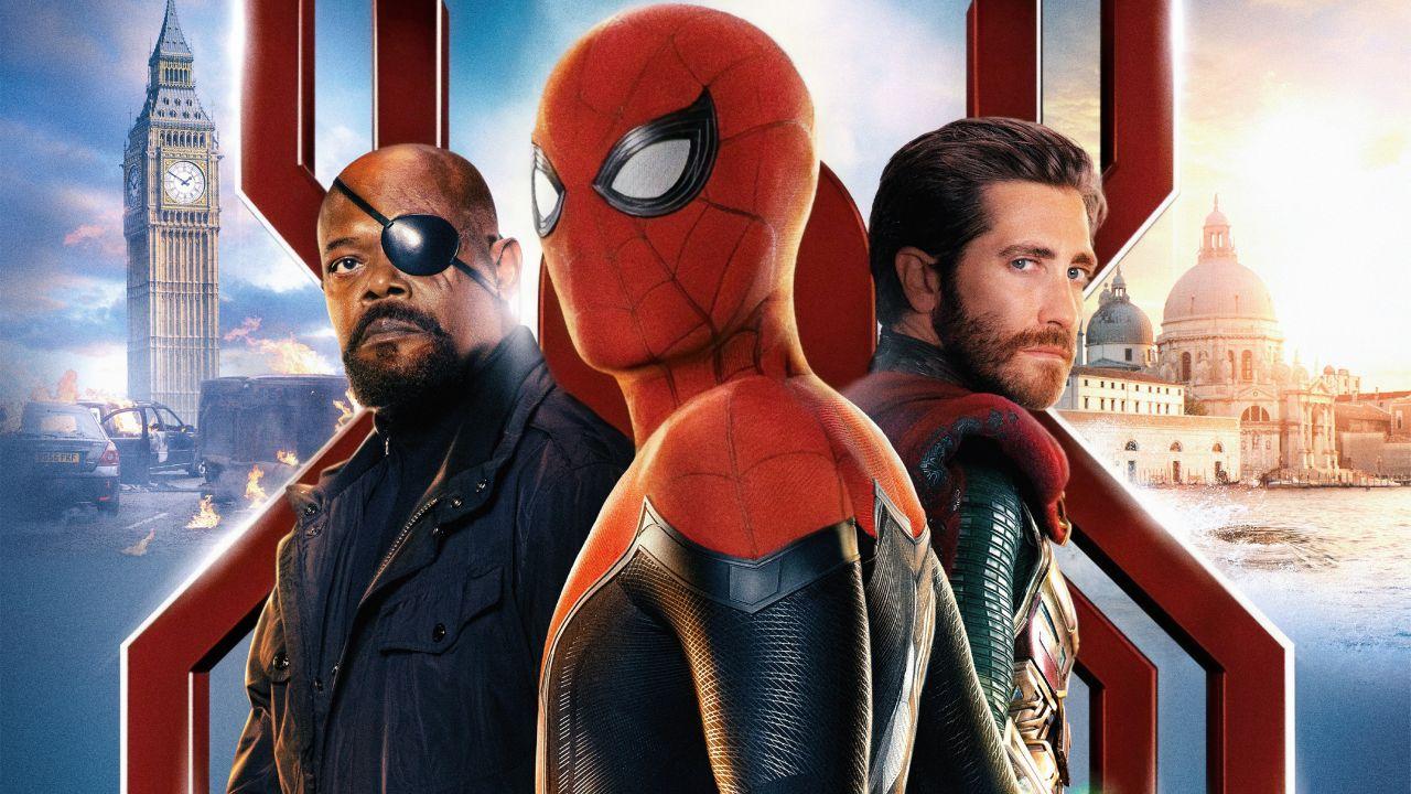 spider-man marvel sony mcu tom holland data 3 sequel far from home mysterio