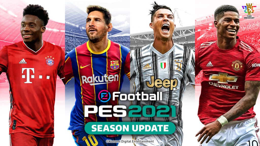 efootball pes 2021 disponibile - cover