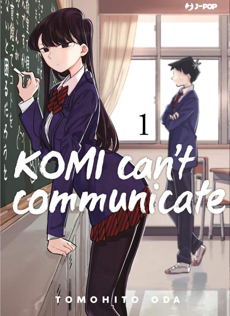 Komi can't communicate J-POP Manga Tomohito Oda