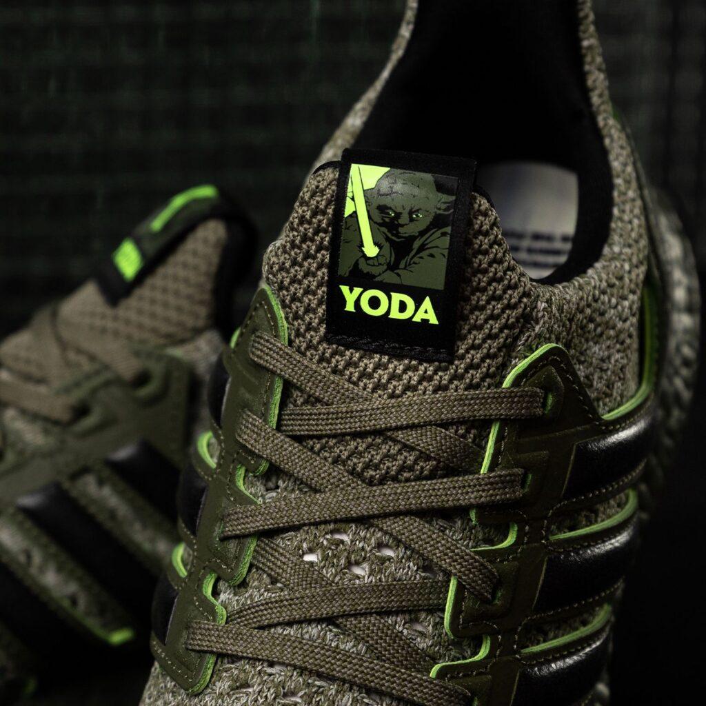 Adidas ultraBOOST di Yoda