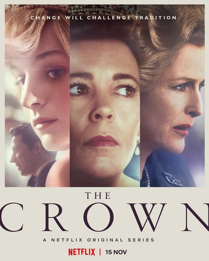 The crown 4: i poster ufficiali della famiglia reale