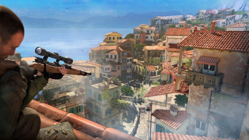 Sniper Elite 4 nintendo Switch novembre