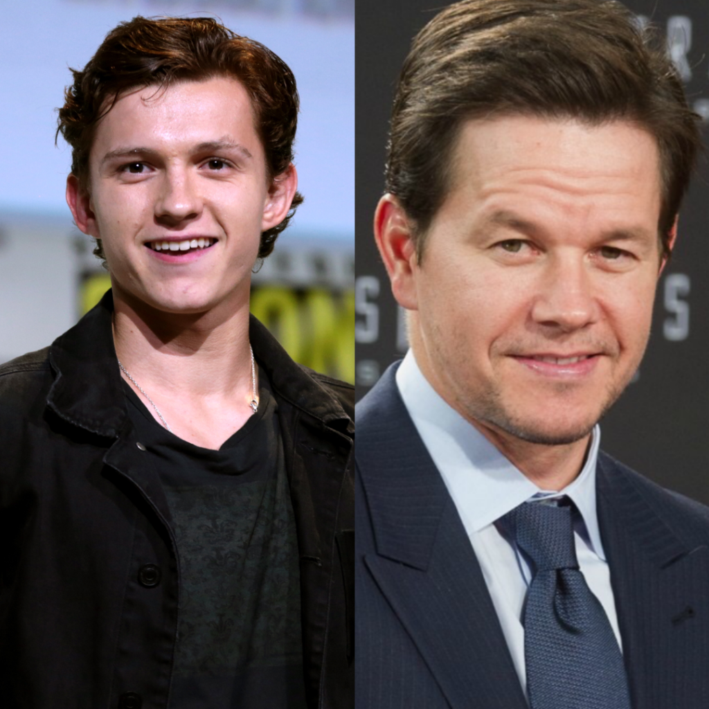 Tom Holland mark wahlberg uncharted
