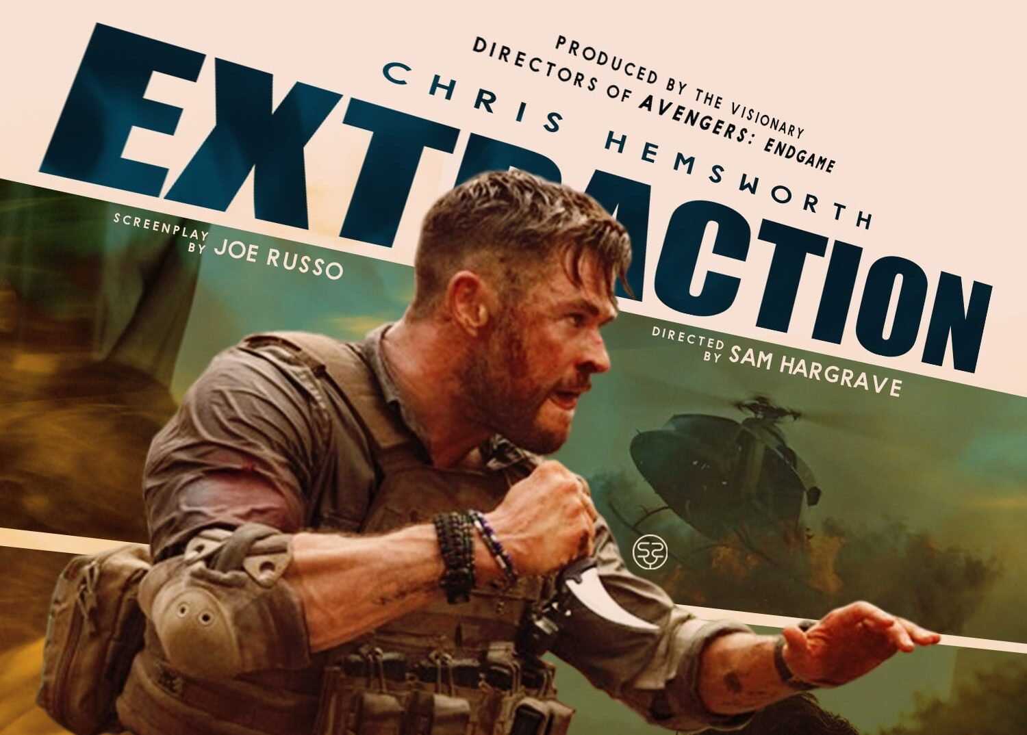 Joe Russo Chris Hemsworth Netflix Extraction 2