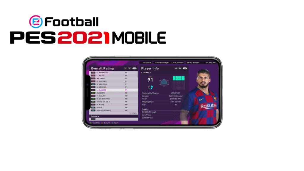 eFootball PES 2021 Mobile - Download traguardo 350 milioni